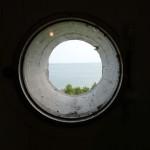 light house window